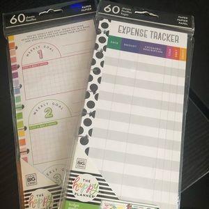 Happy Planner Half Sheet Bundle